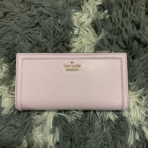 Brand new Braylon wallet in peony-blush